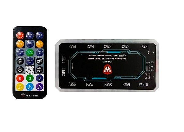 Controle p/ Cooler e Leds Rgb - Satellite (Acb-04)