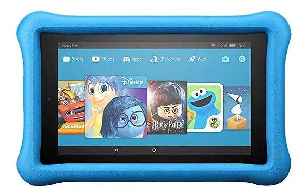 Tablet Amazon Fire 7 Kids Edition - 16GB - Azul