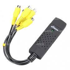 Placa de Captura DVR USB 4 Canais Easy Cap Xtrad - XT-2037