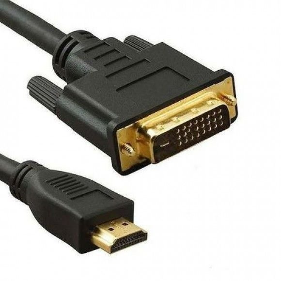Cabo DVI (24+1) x HDMI - 1,40M (XT-5018)