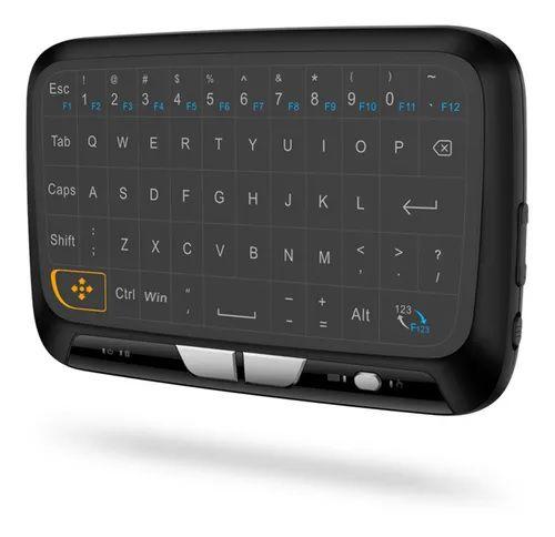 Controle Receptor Smart Mini Wireless Keyboard Touchpad H18