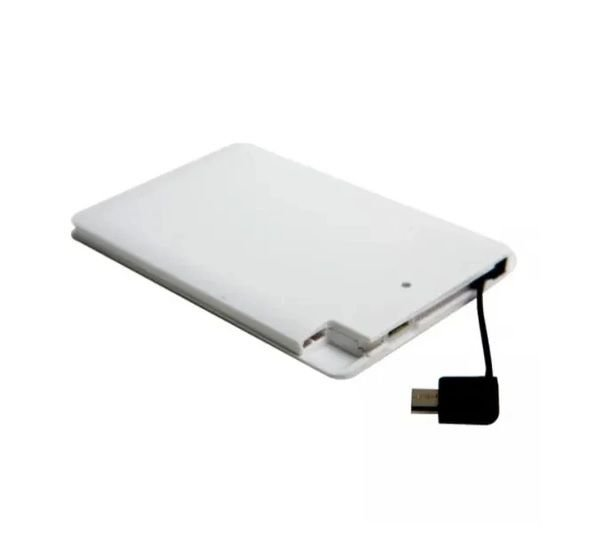 Power Bank Carregador Portatil 2500mAH Ultra Slim - Kimaster (E108)