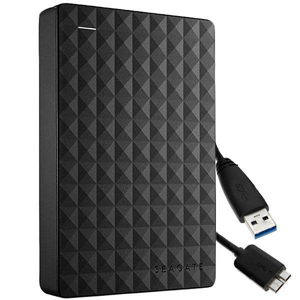 HD Externo Portátil Seagate Backup Plus 4TB USB 3.0 Silver STHP4000401