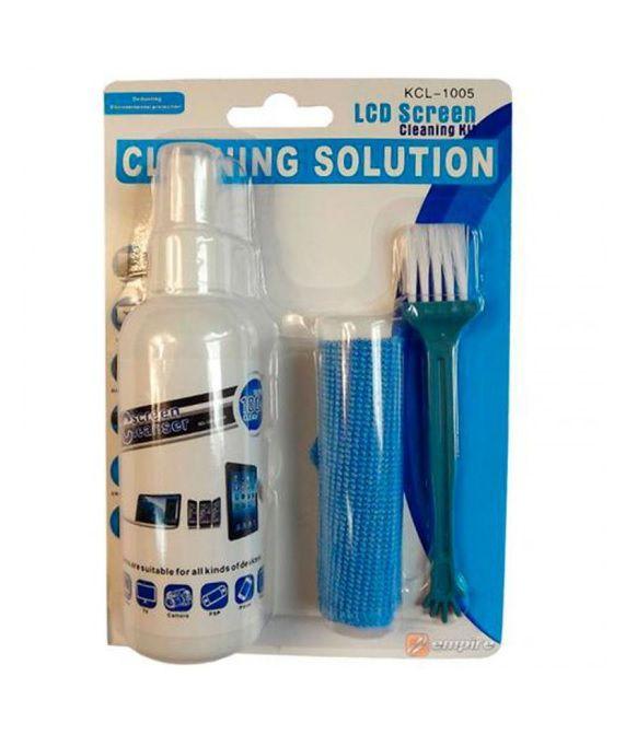 Limpa Telas Clean com Flanela e Escova - 100ml (KCL-1005)