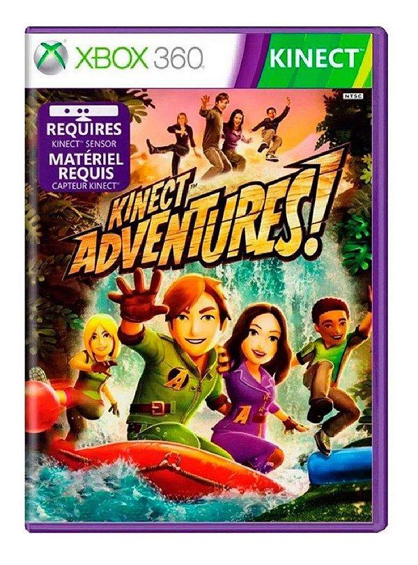 XBOX 360 - Kinect Adventures !