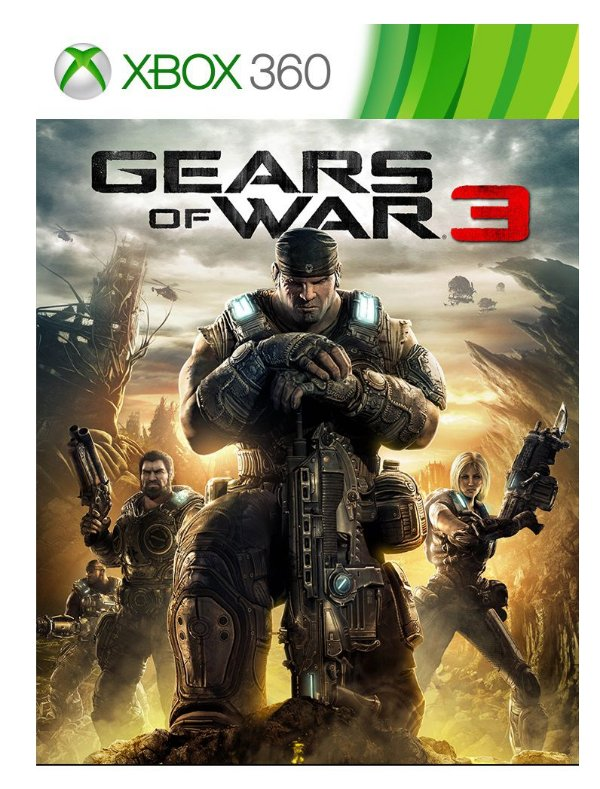 XBOX 360 - Gears of War 3
