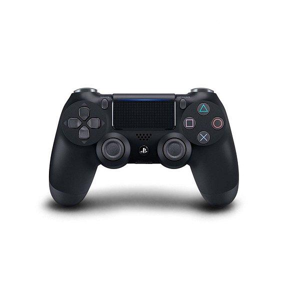 Controle Joystick Playstation 4 Dualshock 4 Sem Fio Wireless Preto Original - Semi Novo
