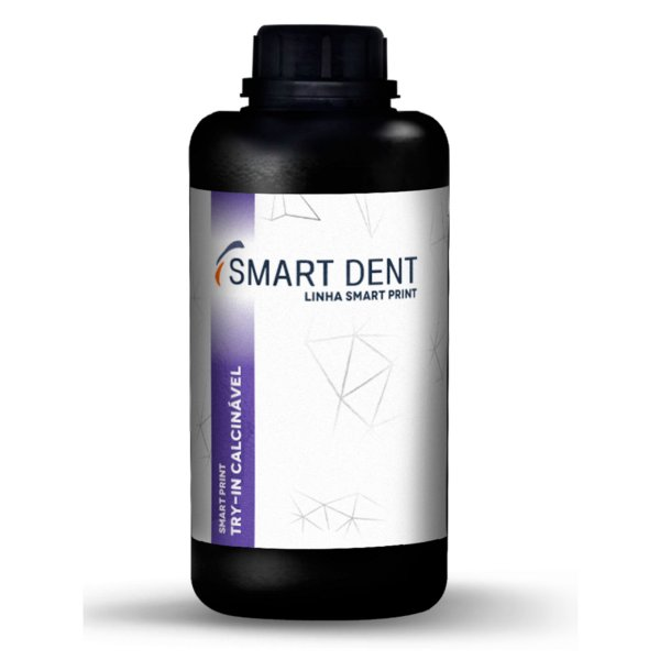 Resina Smart Print Try-In Calcinável