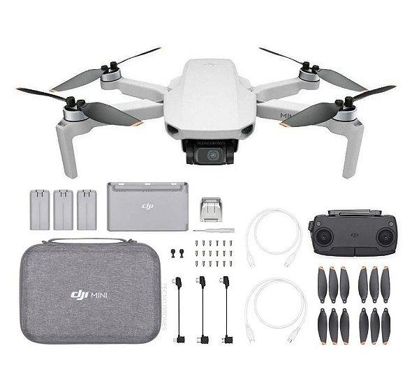 Drone DJI Mini SE Fly More Combo (BR) Anatel
