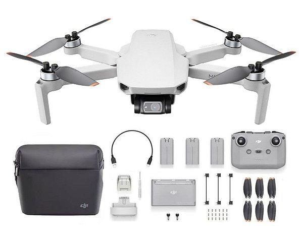 Drone DJI Mini 2 - Fly More Combo Anatel