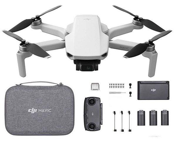 Drone DJI Mavic Mini - Fly More Combo Anatel