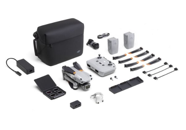Drone DJI Air 2S (BR) - Fly More Combo Anatel
