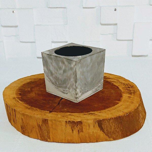 Vaso rústico quadrado