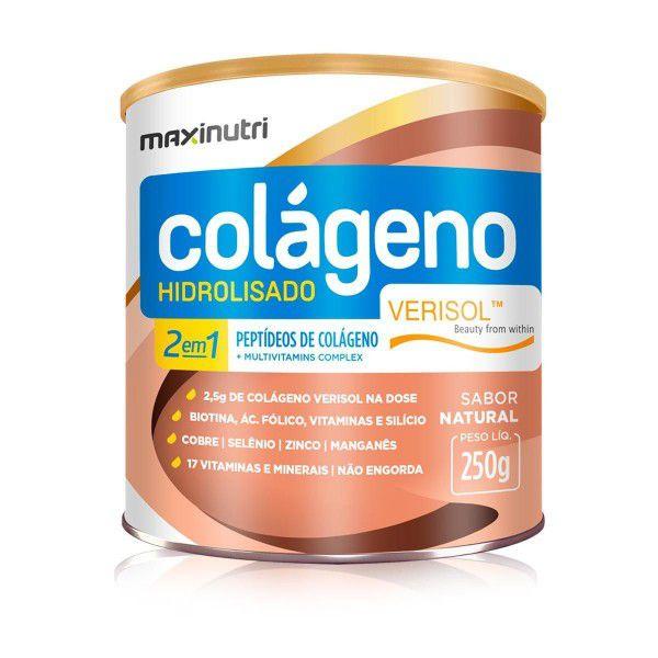 Colágeno Hidrolisado 2 em 1 250 grs