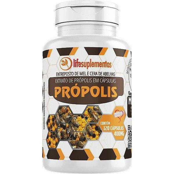 Extrato de Própolis 400 mg X 60 Cápsulas