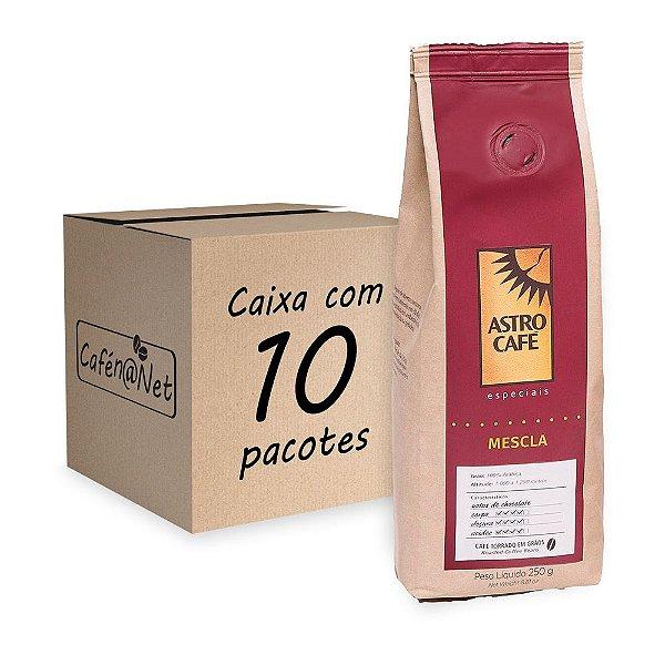 Astro Café em Grão Mescla de 250g - Kit com 10