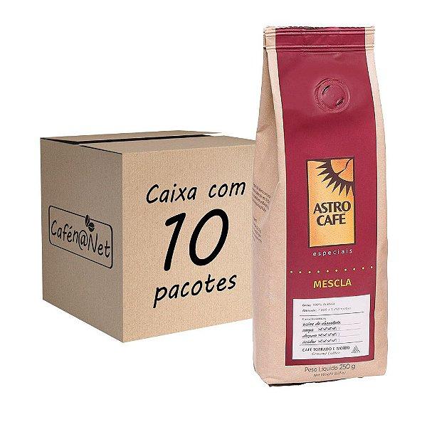 Astro Café Moído Mescla de 250g - Kit com 10