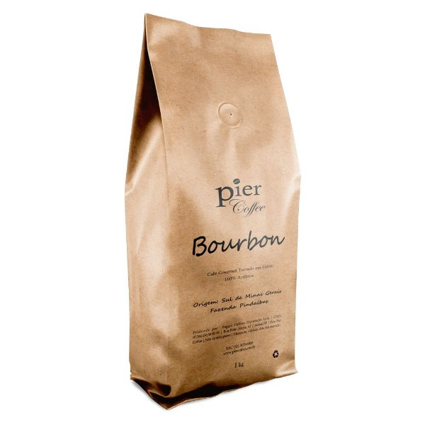 Café em Grãos Pier Coffee Bourbon com 1kg