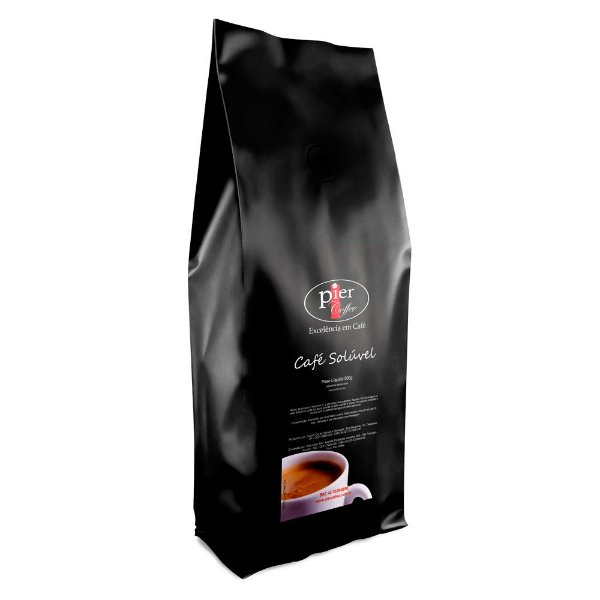 Café Solúvel Pier Coffee com 500g