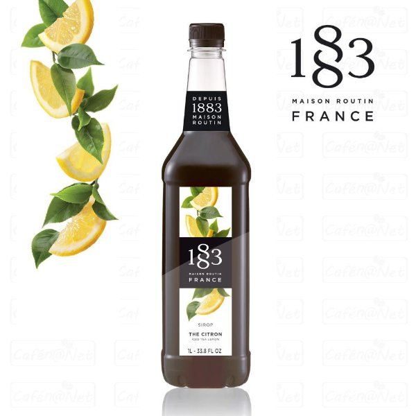 Xarope 1883 Routin de Chá de Limão 1 Litro | Iced Tea Lemon | The Citron