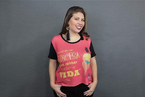 Camiseta Plus Size Toni Princesa