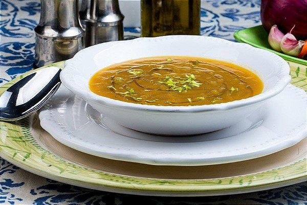 Sopa de legumes funcional