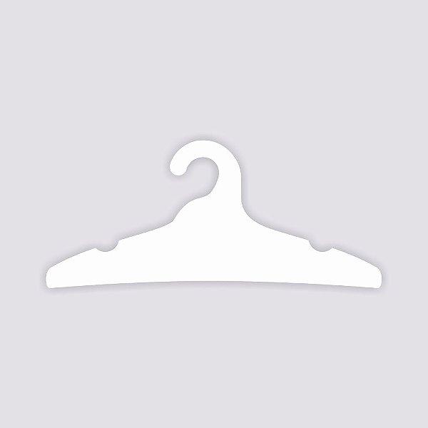 Cabide Adulto / Capa Branca / CS104