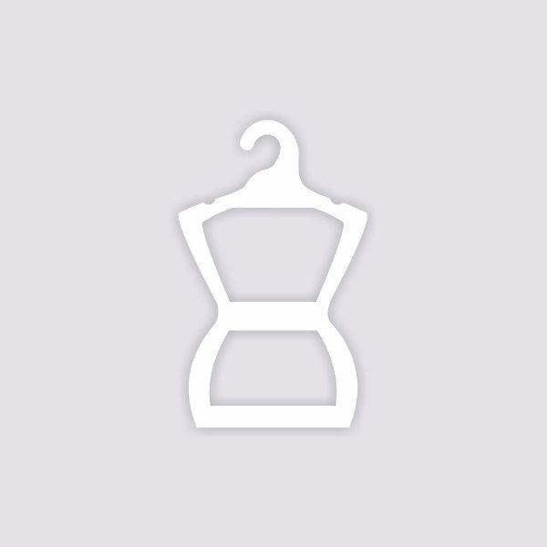 Cabide Silhueta Infantil  - Capa Branca / CS107