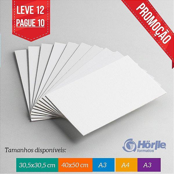 * Leve 12 Pague 10 - Cartão Capa Branca