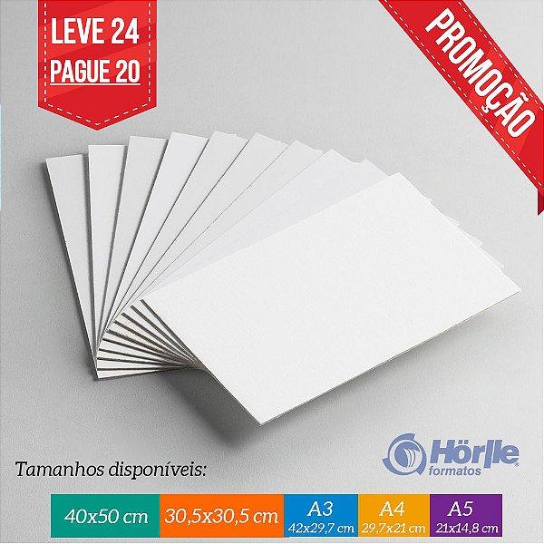 * Leve 24 Pague 20 - Cartão Capa Branca