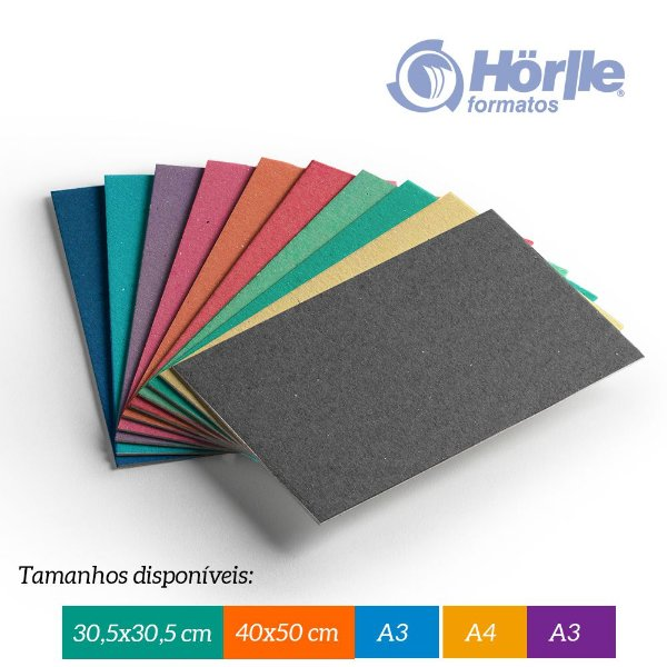 Pacote 10 folhas  - Cartão Color Face - Espessura 2.00mm