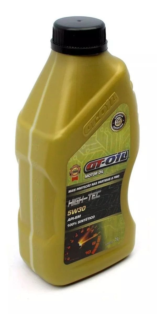 Óleo Lubrificante Sintético 5W30 GT Oil High Tec