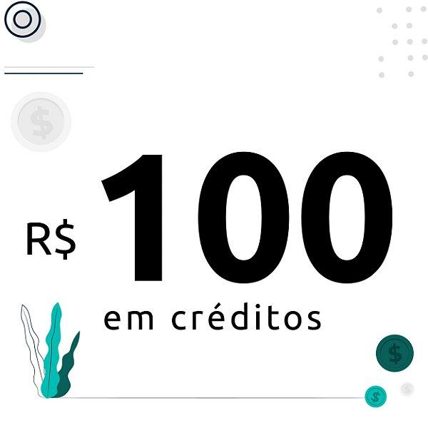 100$ em créditos para emissão de certificados digitais