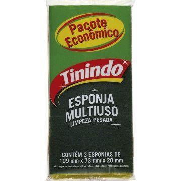 ESPONJA DUPLA FACE TININDO (PCT C/4)