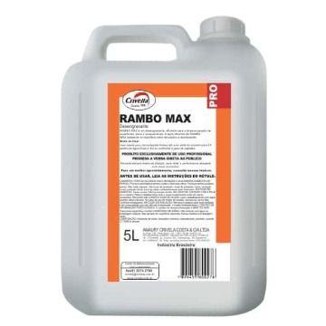 DESINCRUSTANTE RAMBO MAX 5 LITROS