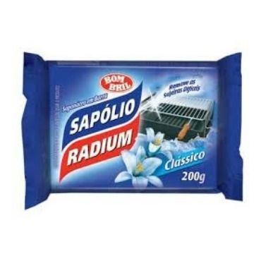 SAPÓLIO EM PEDRA RÁDIUM CLASSIC 200 GR