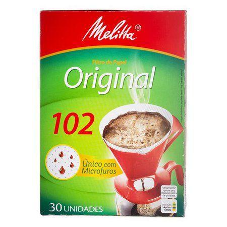 FILTRO DE CAFE MELITA 102 C/30 (UND)