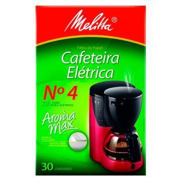 FILTRO DE CAFE MELITA Nº4 C/30 (UND)
