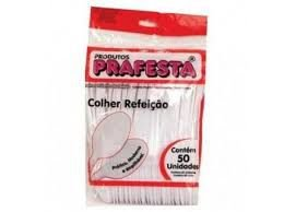 COLHER REF. DESC. BRANCA (PCT 50)