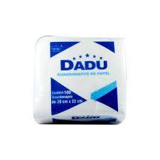 GUARDANAPO 20X22  DADU (PCT C/100)