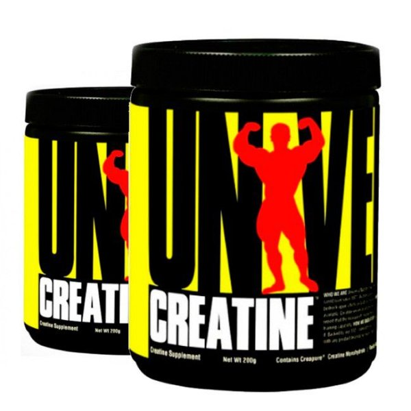 COMBO 2 UNIDADES  - Creatina Powder 200g + 200g - Universal Nutrition
