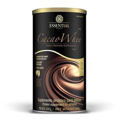 Cacao Whey 450g - Essential Nutrition - Essential whey isolado