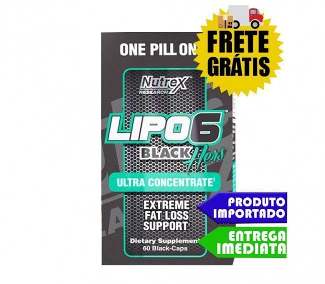 Lipo 6 Hers - Nutrex 60 capsulas