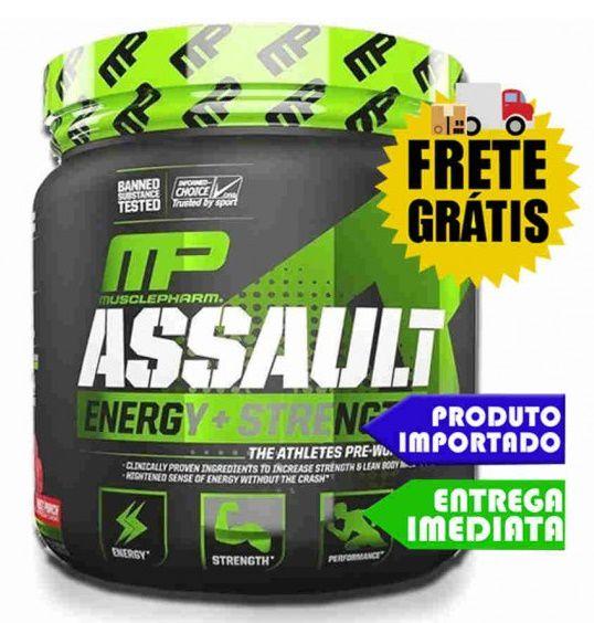 Assault - Muscle Pharm (Importado) 30 doses