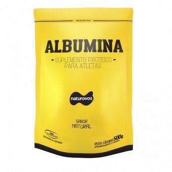 ALBUMINA 500G - NATUROVOS Chocolate