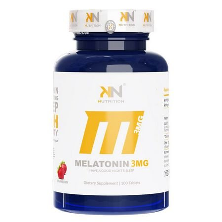 MELATONINA SUBLINGUAL 3MG (100 TABS) - KN NUTRITION