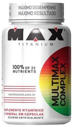 Multivitaminico Max Complex (90 caps) - Max Titanium
