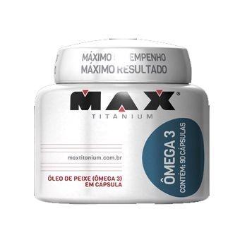 ÔMEGA 3 90 CAPS MAX TITANIUM