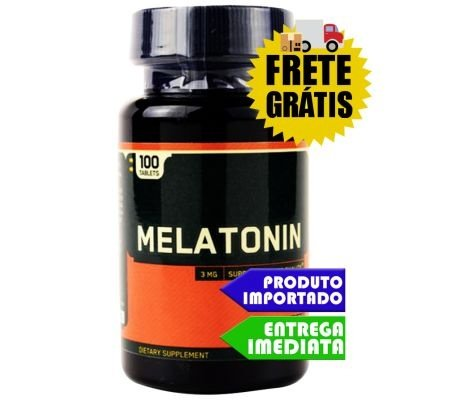 Optimum Nutrition Melatonina 3mg Pote 100 Tabletes
