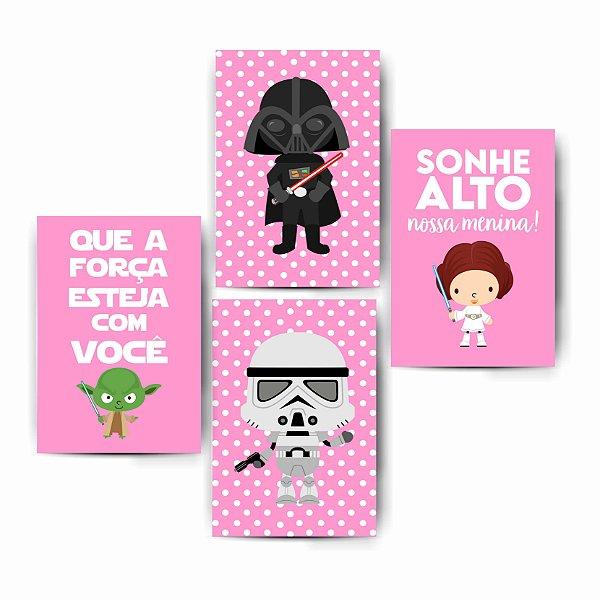 Kit Star Wars Menina Cute